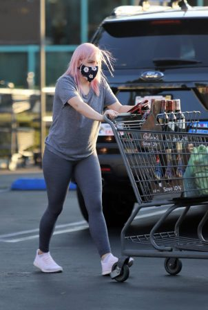 Ariel Winter - Seen out for grocery shopping in Los Angeles