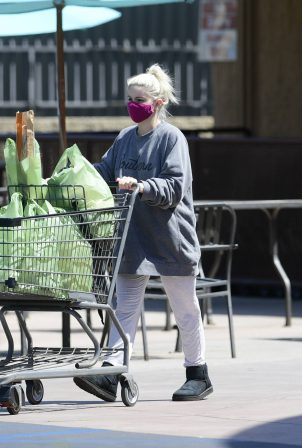 Ariel Winter - Shopping for groceries in Los Angeles