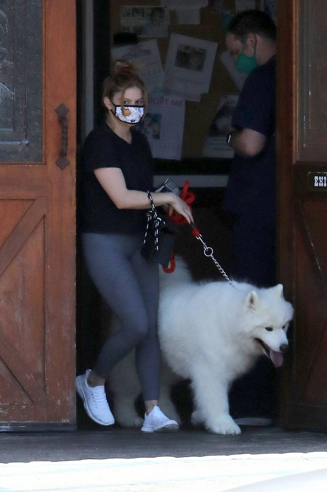 Ariel Winter 2020 : Ariel Winter – Takes her dog to the Veterinarian for a routine check up in Studio City-09