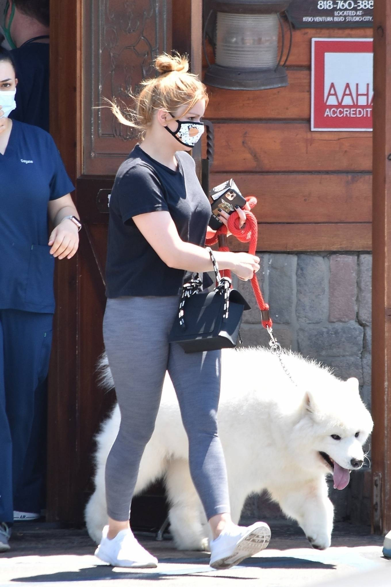 Ariel Winter 2020 : Ariel Winter – Takes her dog to the Veterinarian for a routine check up in Studio City-16
