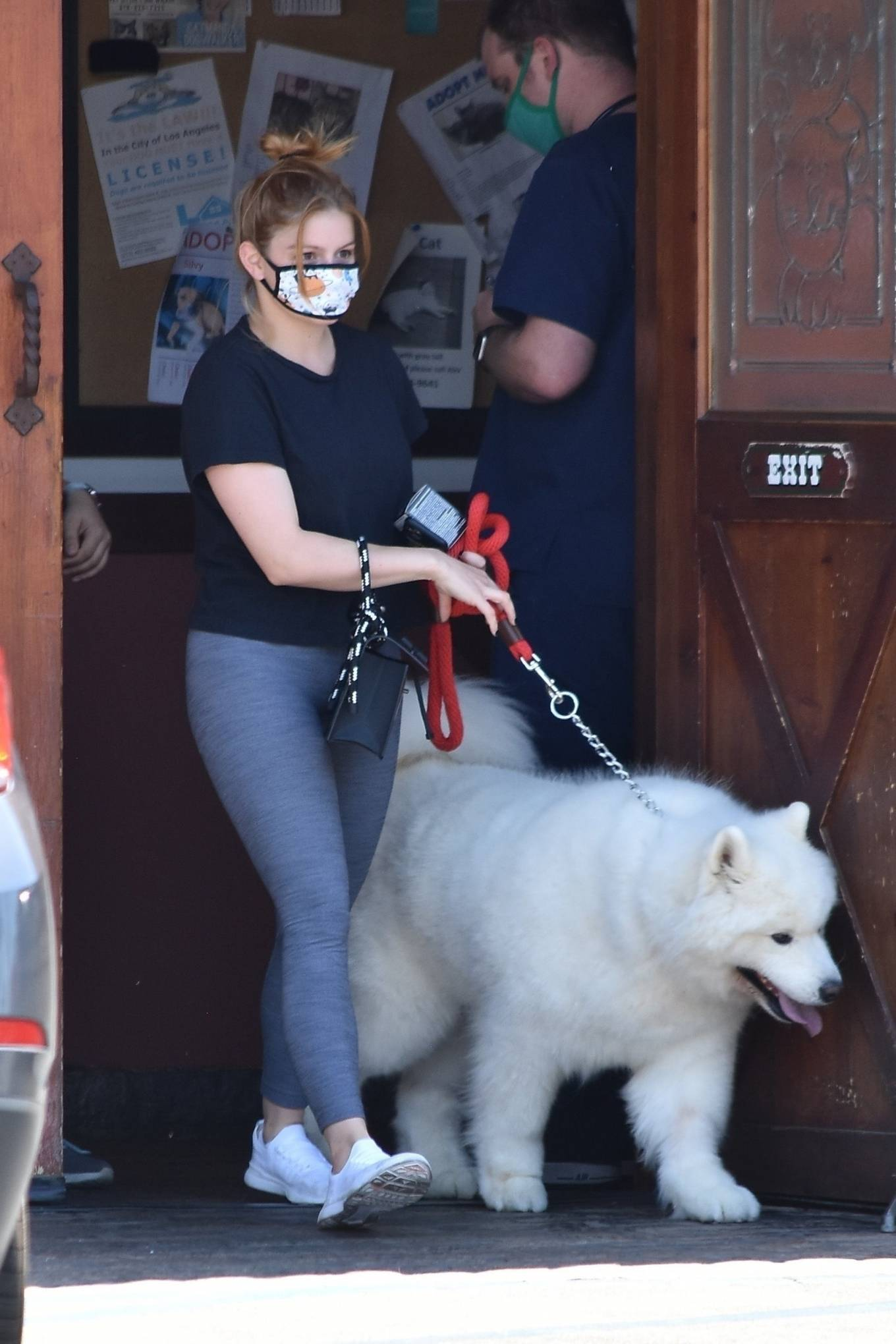Ariel Winter 2020 : Ariel Winter – Takes her dog to the Veterinarian for a routine check up in Studio City-17