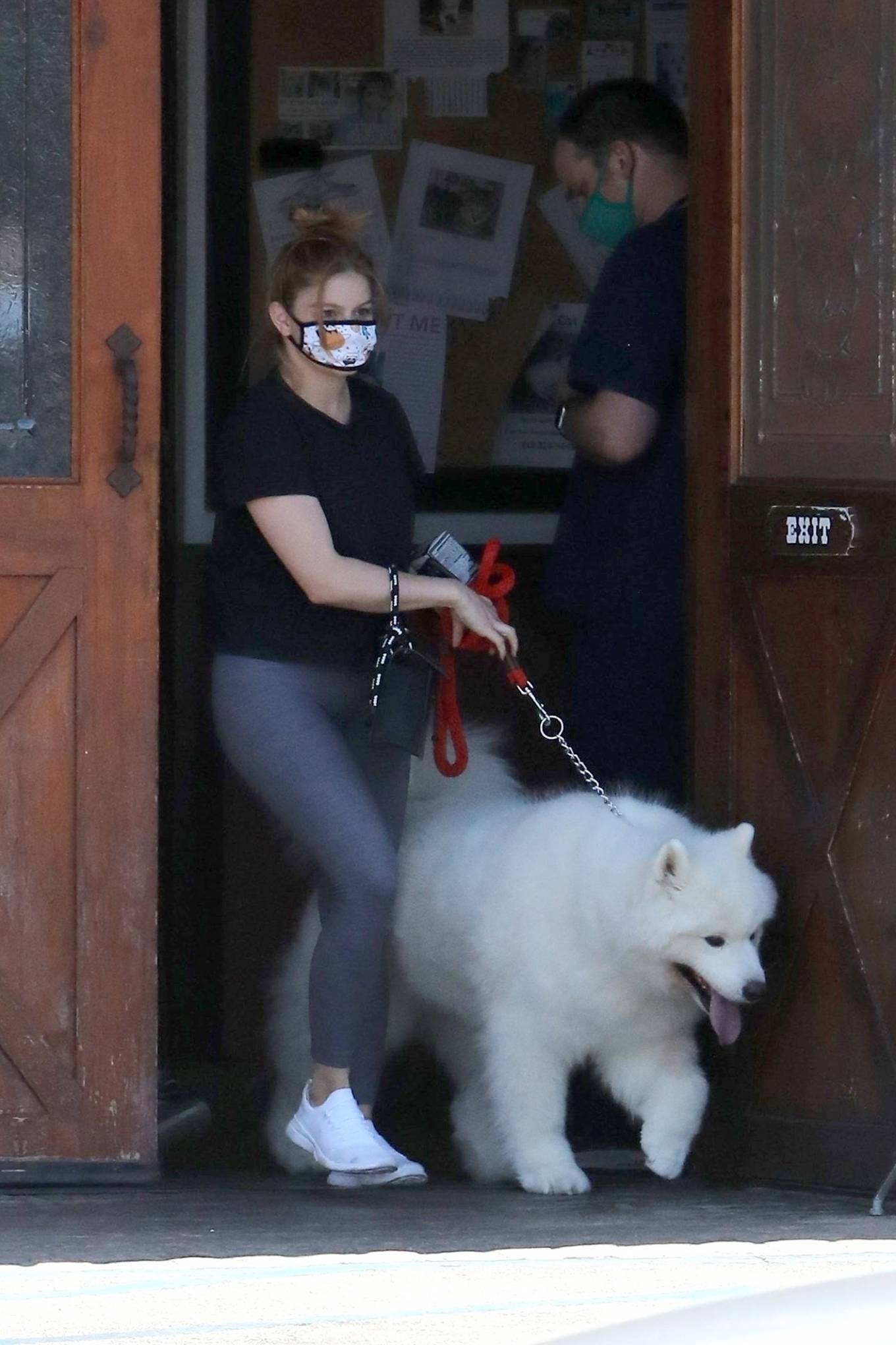 Ariel Winter 2020 : Ariel Winter – Takes her dog to the Veterinarian for a routine check up in Studio City-19