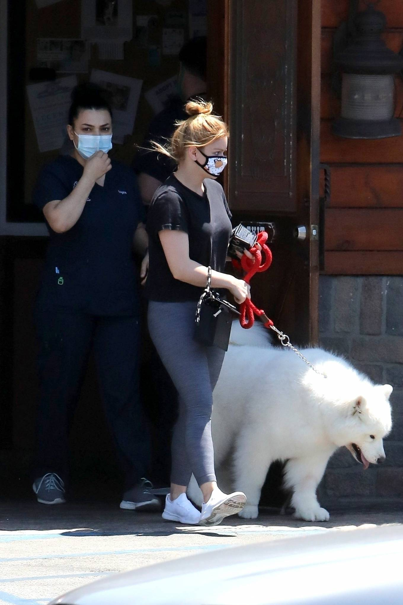Ariel Winter 2020 : Ariel Winter – Takes her dog to the Veterinarian for a routine check up in Studio City-27
