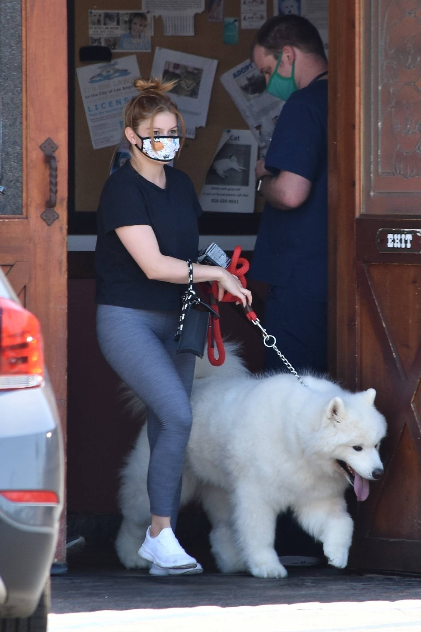 Ariel Winter 2020 : Ariel Winter – Takes her dog to the Veterinarian for a routine check up in Studio City-29