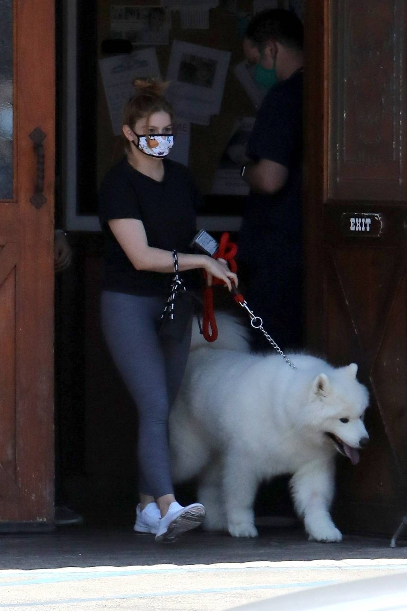 Ariel Winter 2020 : Ariel Winter – Takes her dog to the Veterinarian for a routine check up in Studio City-42