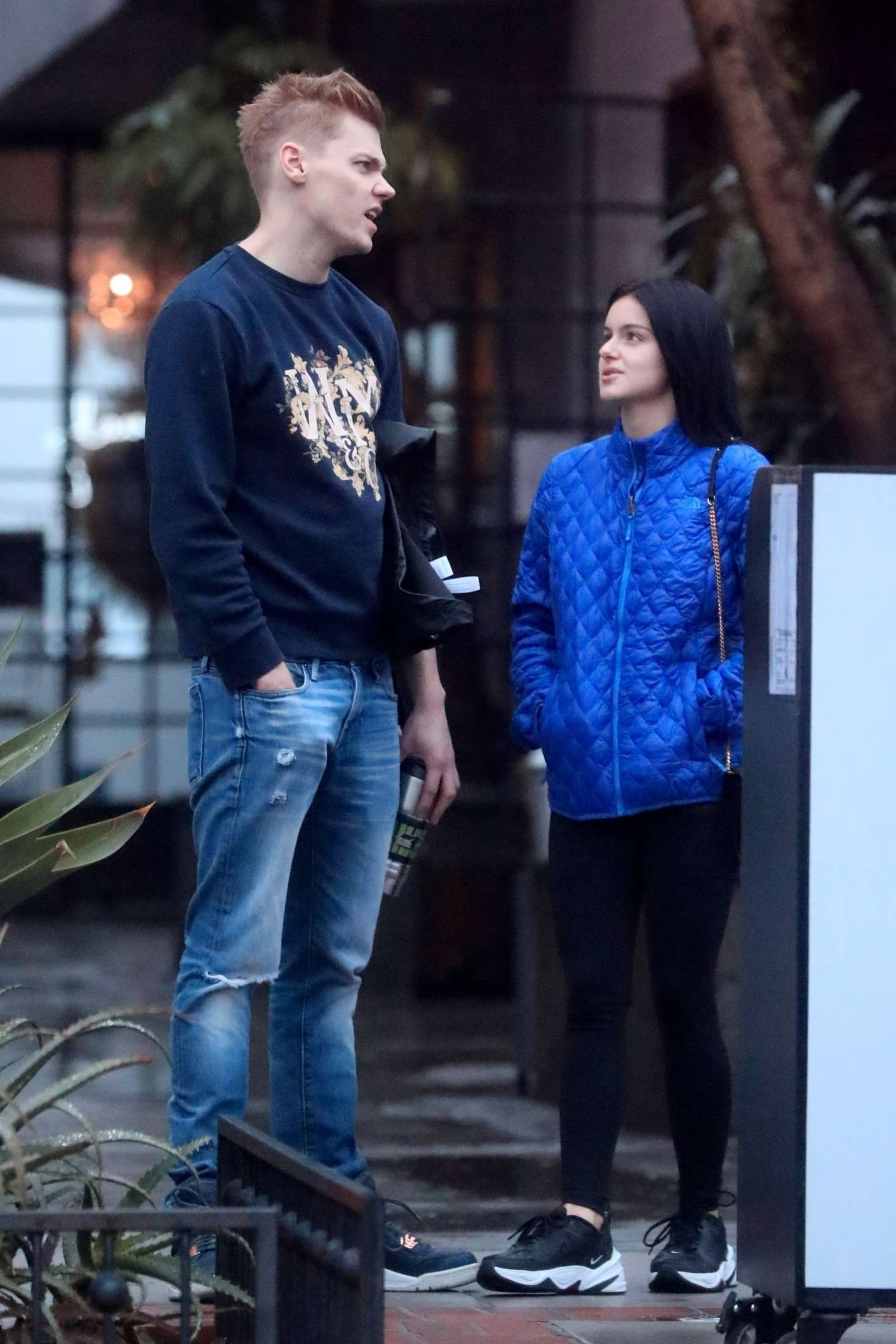 Ariel Winter with boyfriend Levi Meaden – Out in Los Angeles
