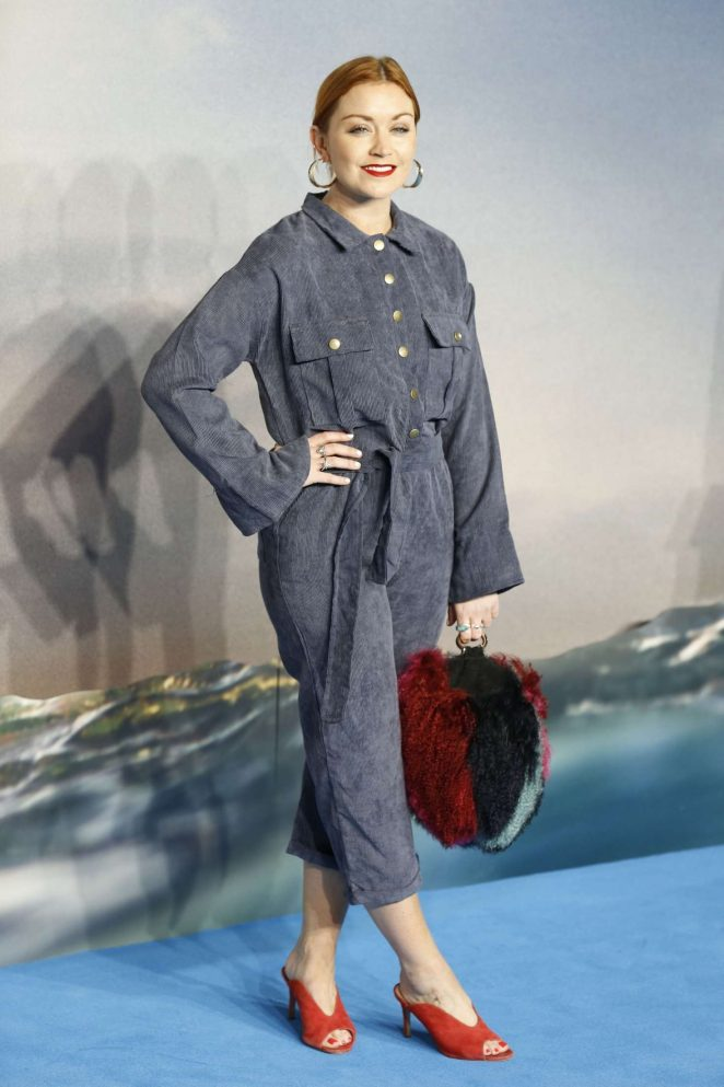 Arielle Free - 'Aquaman' Premiere in London