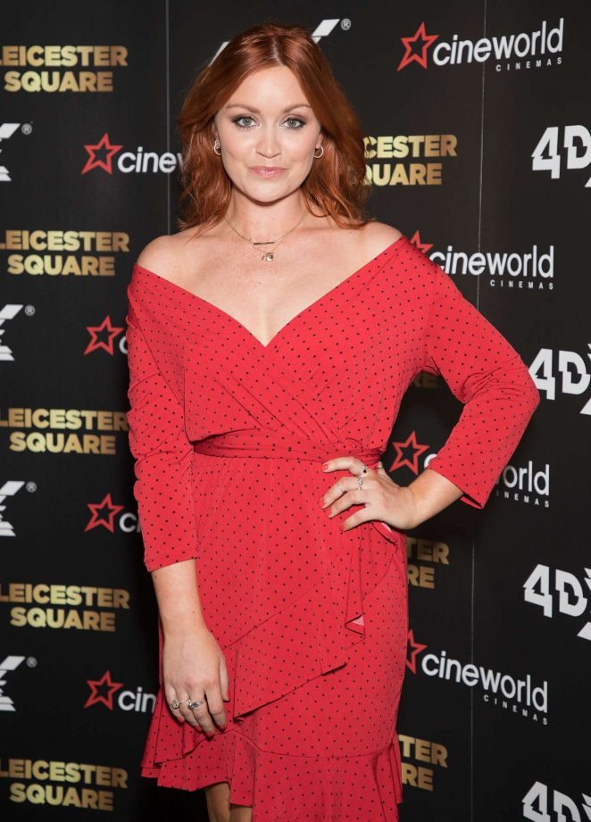 Arielle Free - Cineworld Leicester Square Relaunch Party in London