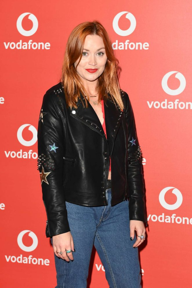 Arielle Free - Vodafone Passes launch in London