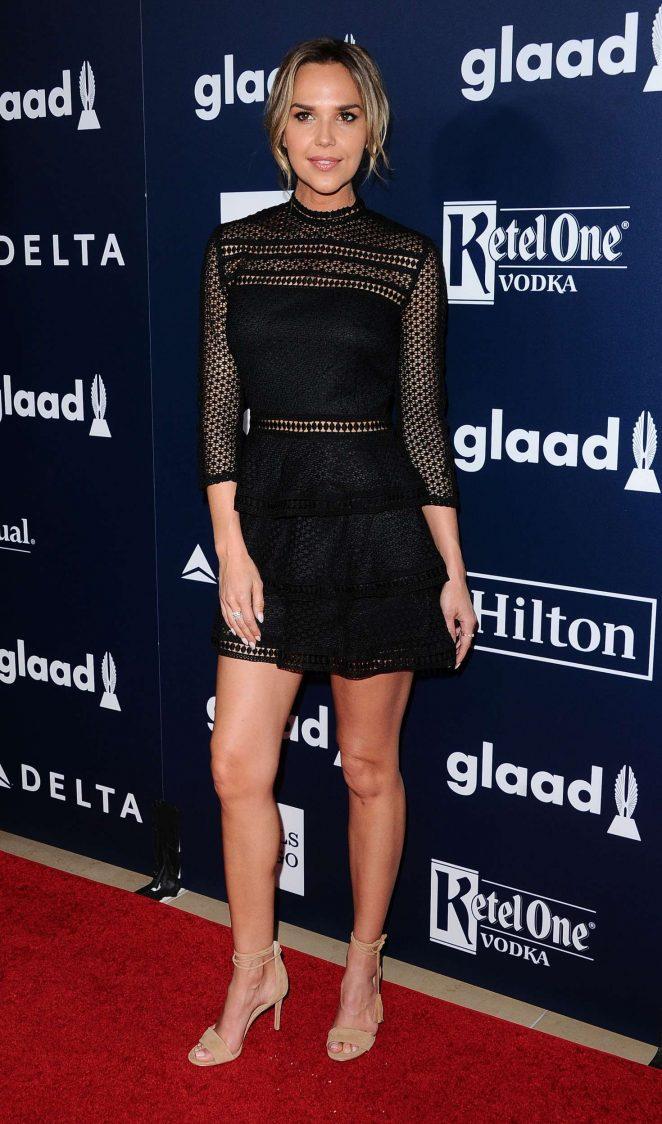 Arielle Kebbel - 2017 GLAAD Media Awards in Los Angeles