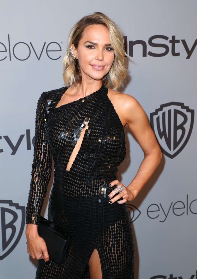 Arielle Kebbel - 2018 InStyle and Warner Bros Golden Globes After Party in LA