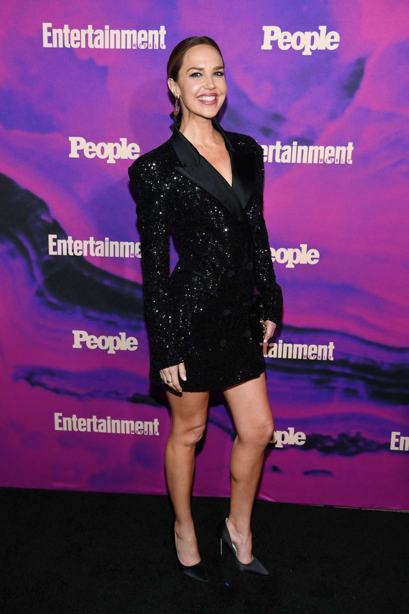 Arielle Kebbel 2019 : Arielle Kebbel: Entertainment Weekly & PEOPLE New York Upfronts Party -01