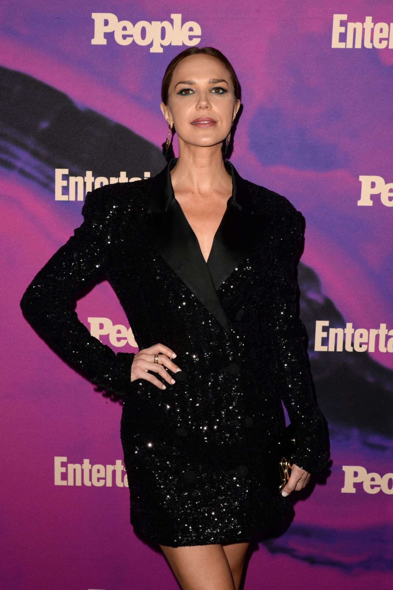 Arielle Kebbel - Entertainment Weekly & PEOPLE New York Upfronts Party in NY