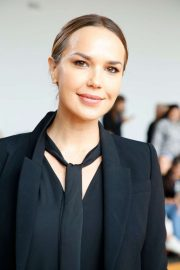 Arielle Kebbel - front row for Sally LaPointe during New York Fashion Week