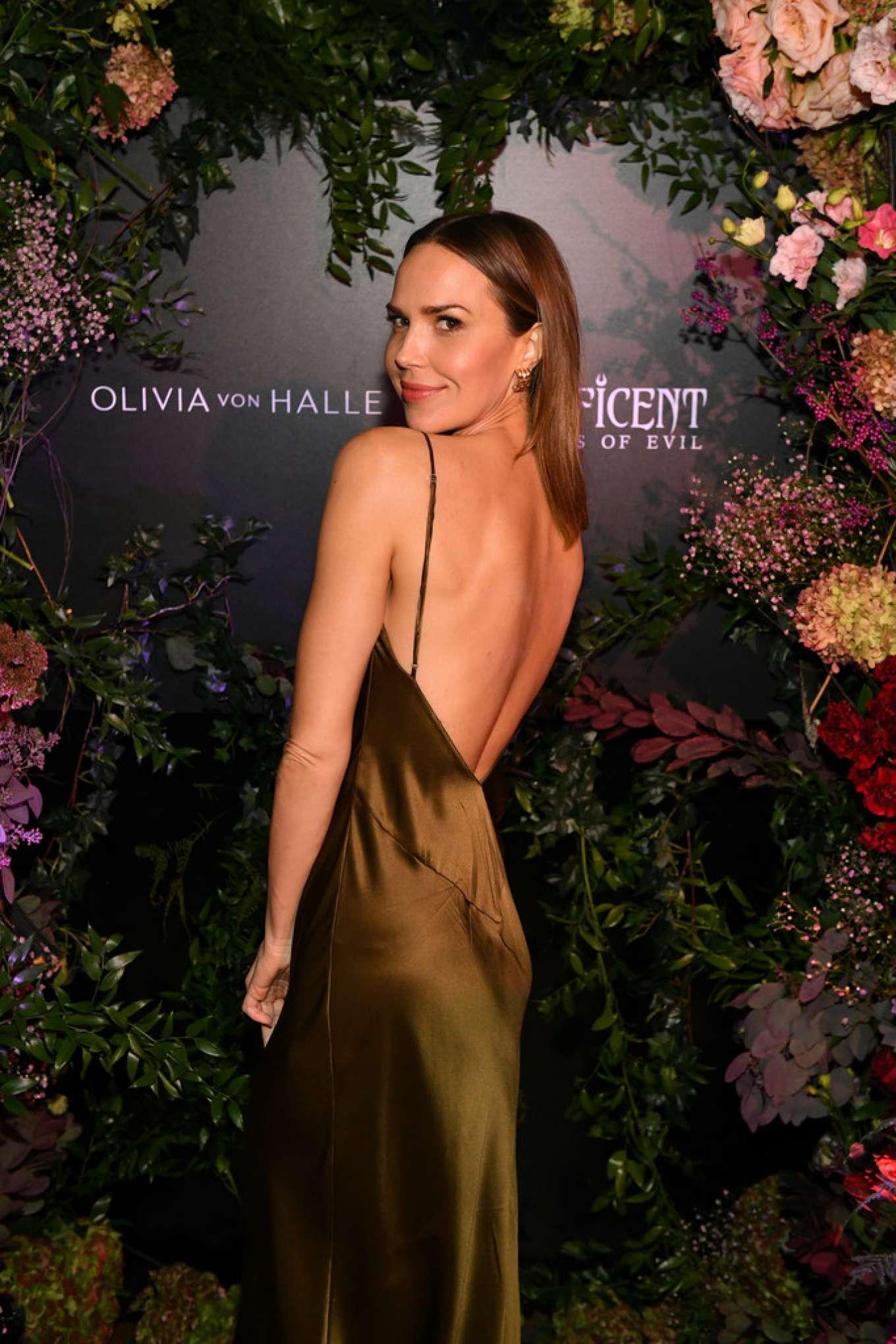 Arielle Kebbel - Olivia von Halle x Disney Maleficent: Mistress of Evil event in NYC
