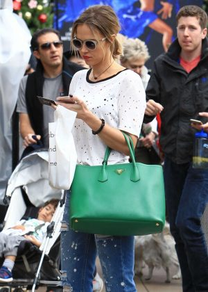 Arielle Kebbel - Shopping at The Grove in Los Angeles