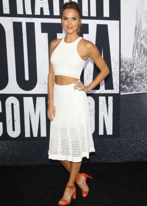Arielle Kebbel - 'Straight Outta Compton' Premiere in LA