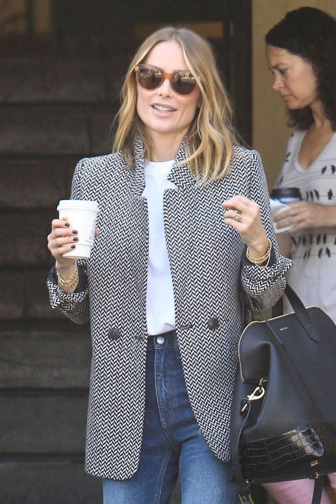 Arielle Vandenberg at Alfred Coffee in West Hollywood