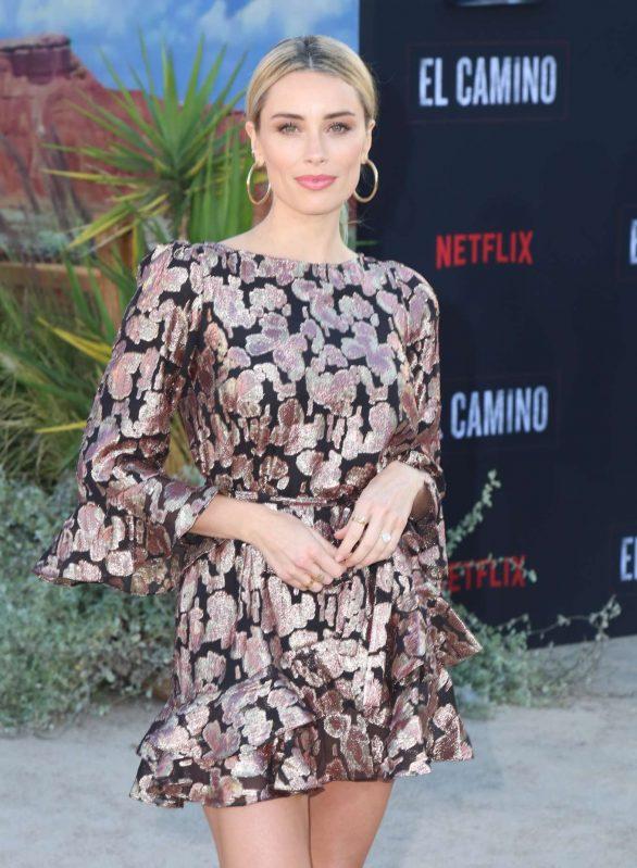 Arielle Vandenberg - 'El Camino: A Breaking Bad Movie' Premiere in Los Angeles