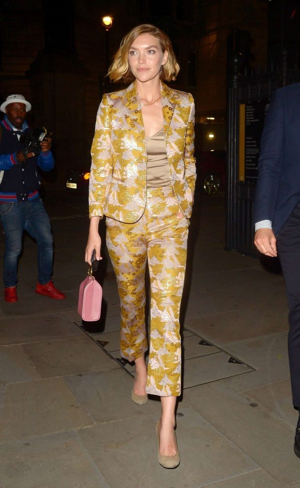 Arizona Muse - Arrives at Chopard Bond Street Boutique Reopening Dinner in London