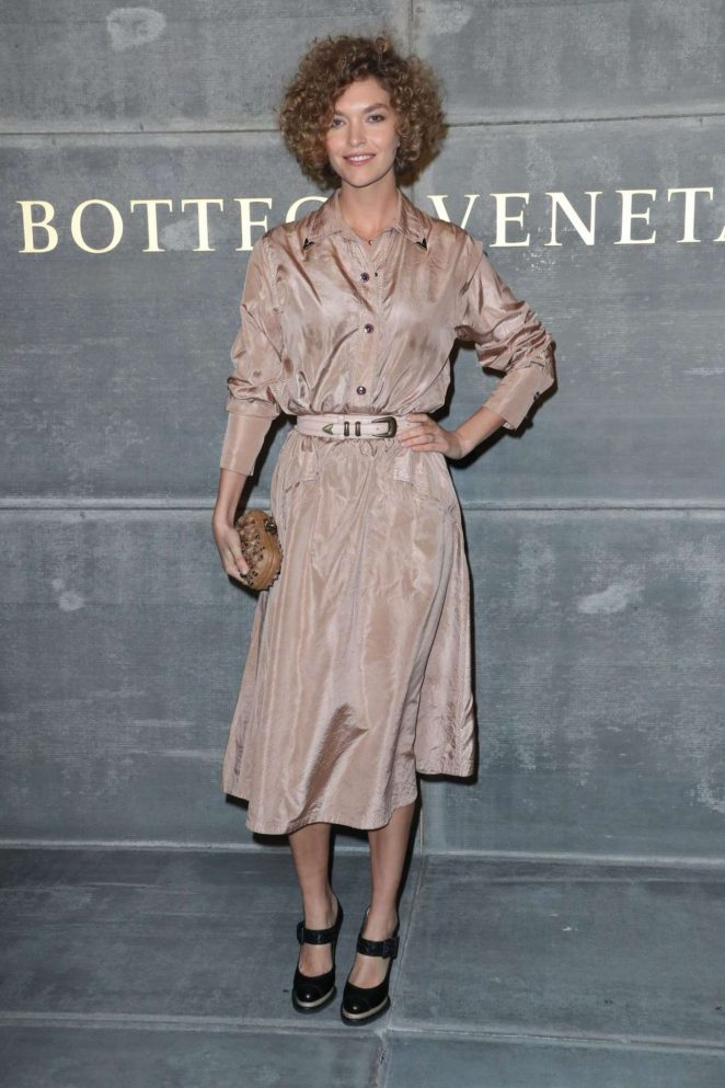 Arizona Muse - Bottega Veneta Fashion Show 2018 in New York