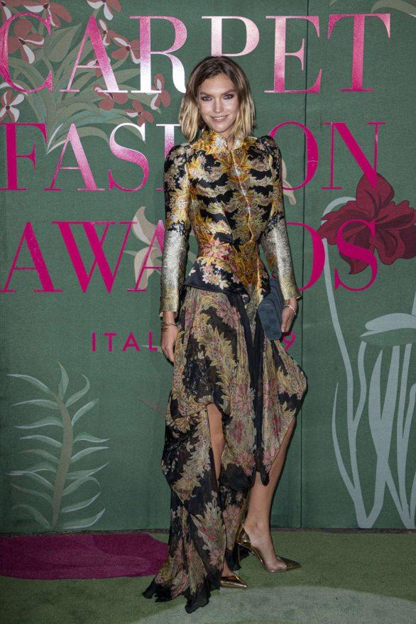 Arizona Muse - Green Carpet Fashion Awards 2019 in Milan