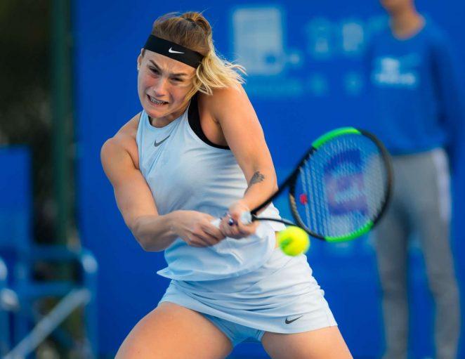 Aryna Sabalenka - 2018 Shenzhen Open WTA International Open in Shenzhen