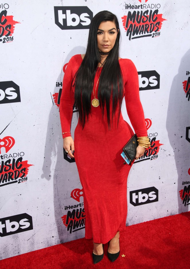 Asa Soltan Rahmati - iHeartRadio Music Awards 2016 in Los Angeles