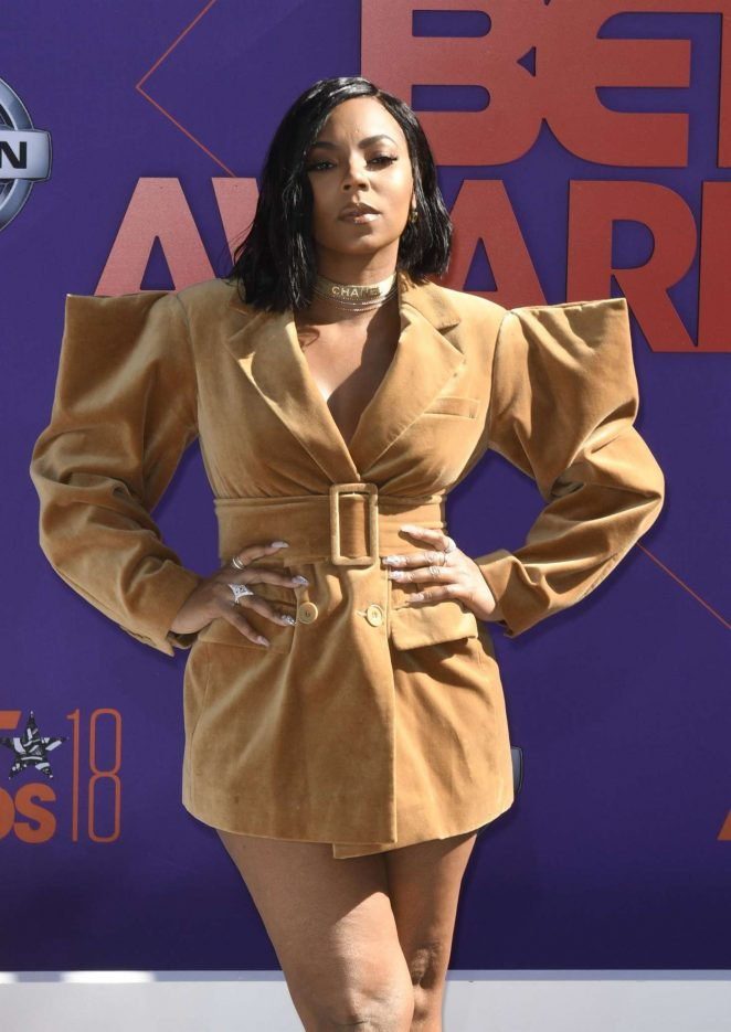 Ashanti - 2018 BET Awards in Los Angeles