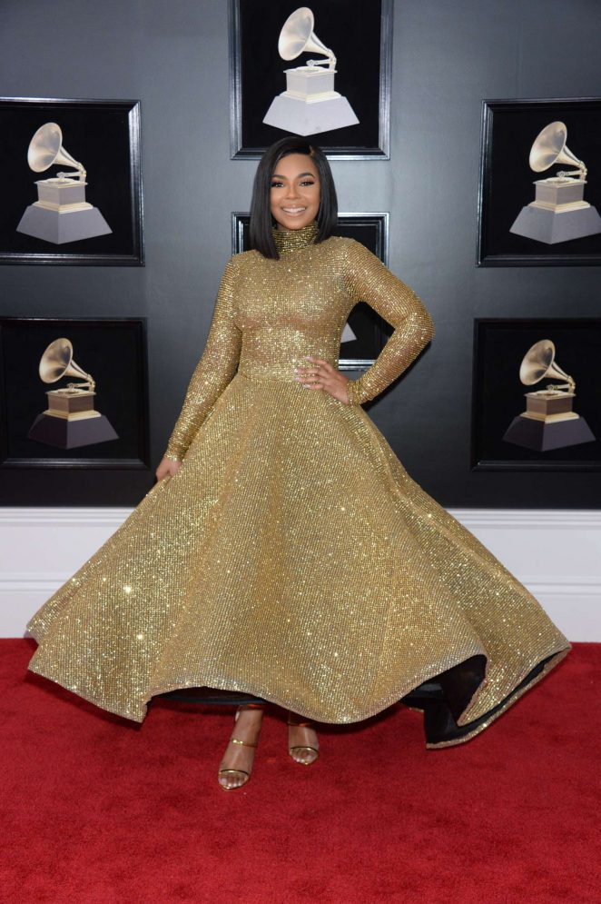 Ashanti - 2018 GRAMMY Awards in New York City