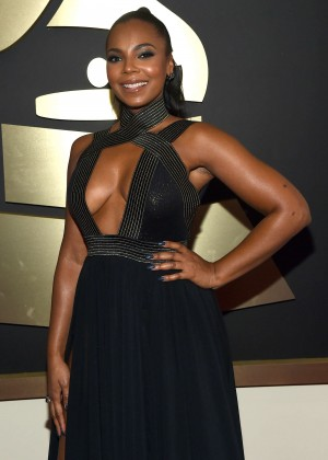 Ashanti - GRAMMY Awards 2015 in Los Angeles