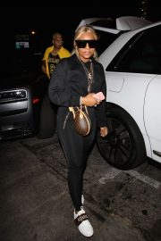 Ashanti - Arrives at the Peppermint Club in West Hollywood