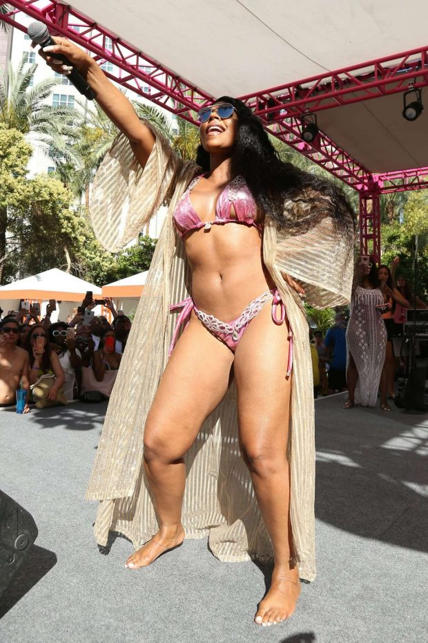 Ashanti - Perform live at Flamingo Las Vegas Go Pool Dayclub