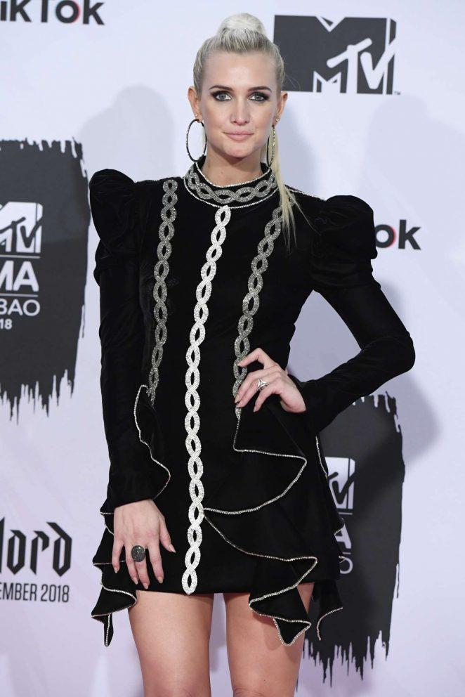 Ashlee Simpson - 2018 MTV Europe Music Awards in Bilbao