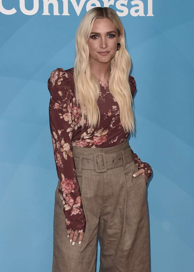 Ashlee Simpson - 2018 NBCUniversal Summer Press Day in Universal City