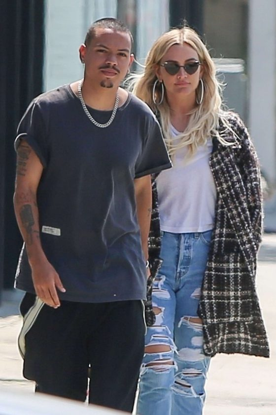 Ashlee Simpson and Evan Ross - Out in Los Angeles