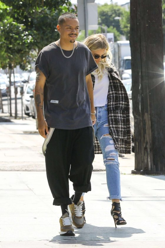 Ashlee Simpson and Evan Ross: Out in Los Angeles -04