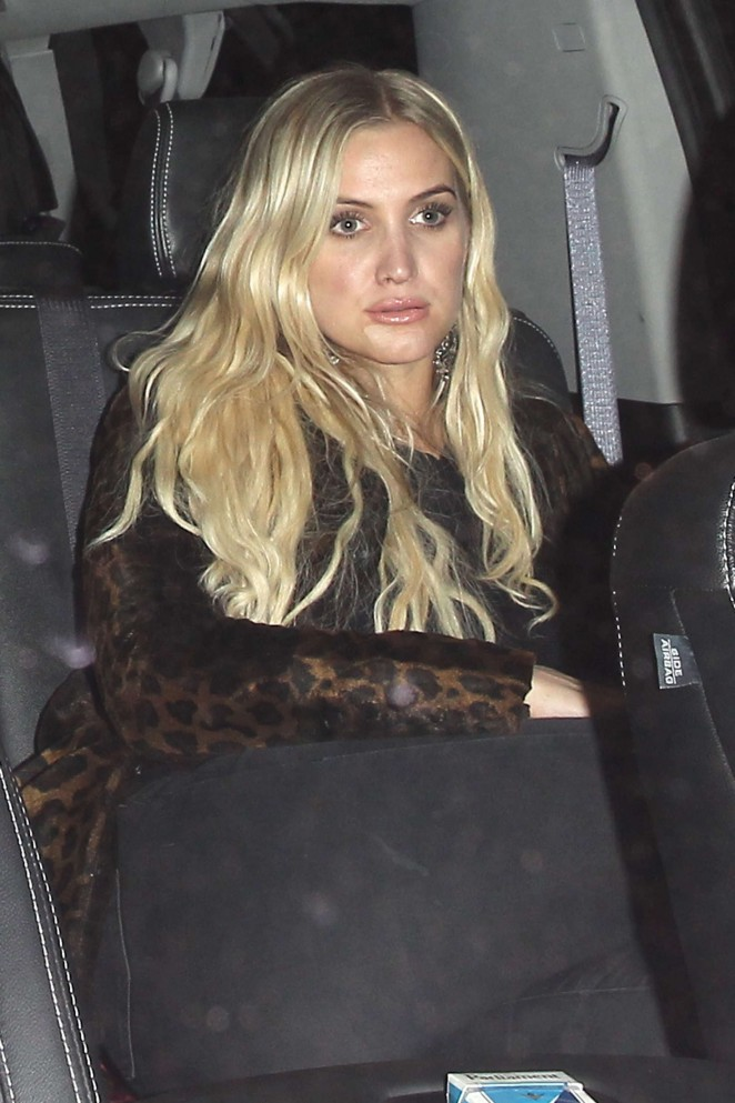 Ashlee Simpson at 1Oak in West Hollywood