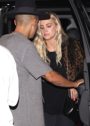 Ashlee Simpson at 1Oak in West Hollywood -05