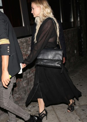 Ashlee Simpson at Lady Gaga's 30th Birthday Party in LA