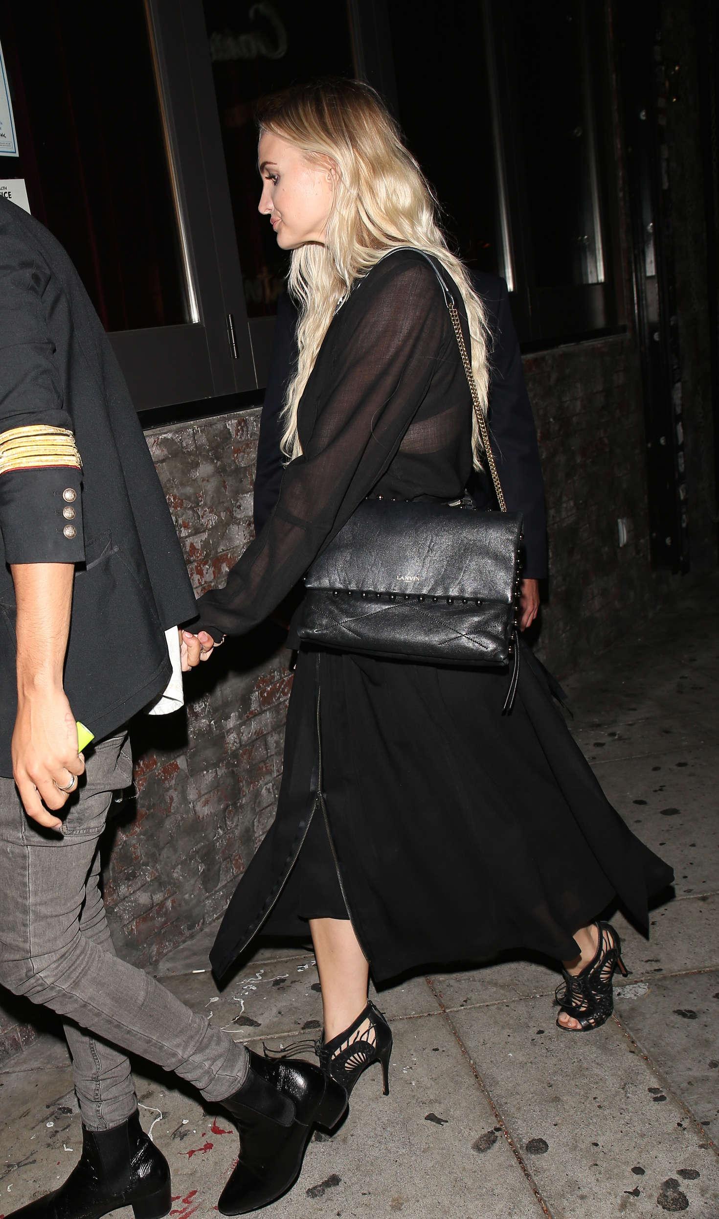 Ashlee Simpson at Lady Gaga's 30th Birthday Party in LA