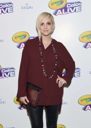 Ashlee Simpson - 'Color Alive' Launch Event in NYC