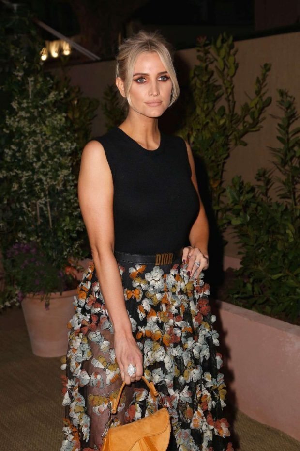 Ashlee Simpson - Dior And Vogue Paris Dinner in Cannes