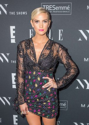 Ashlee Simpson - E!, ELLE & IMG celebrate the Kick-Off To NYFW: The Shows at The Pool in NYC