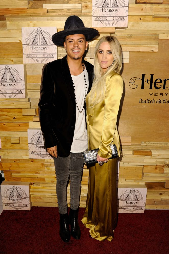 Ashlee Simpson - Hennessy VS Limited Edition By Scott Campbell Bottle Launch