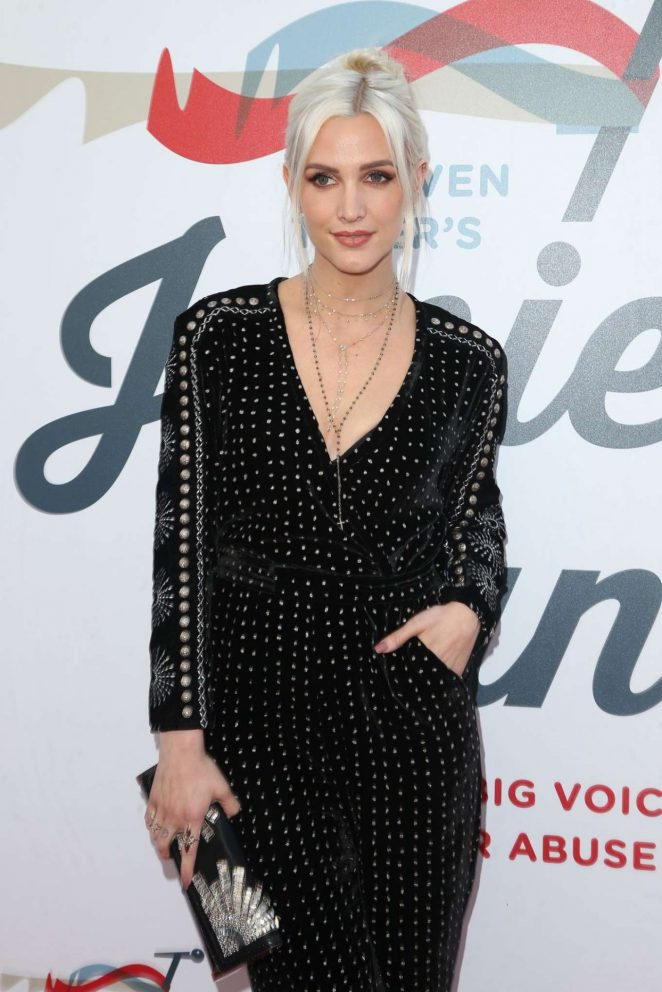 Ashlee Simpson - Inaugural Janie's Fund Gala and Grammy Party in LA
