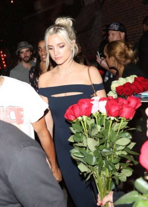 Ashlee Simpson Leaving The Highlight Room in Hollywood