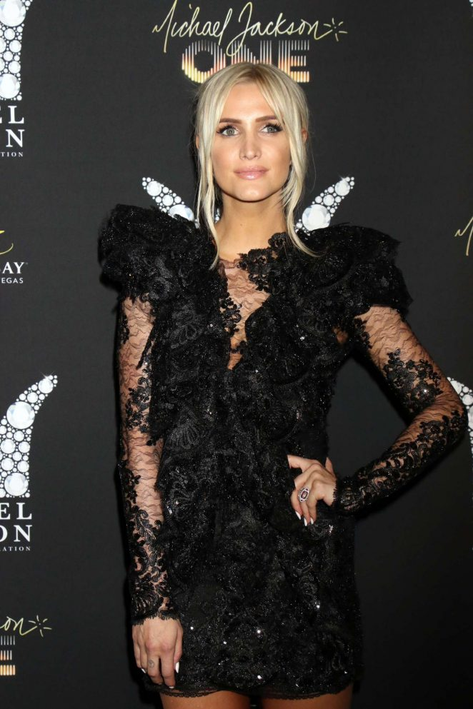 Ashlee Simpson - Michael Jackson Diamond Birthday Celebration in Las Vegas