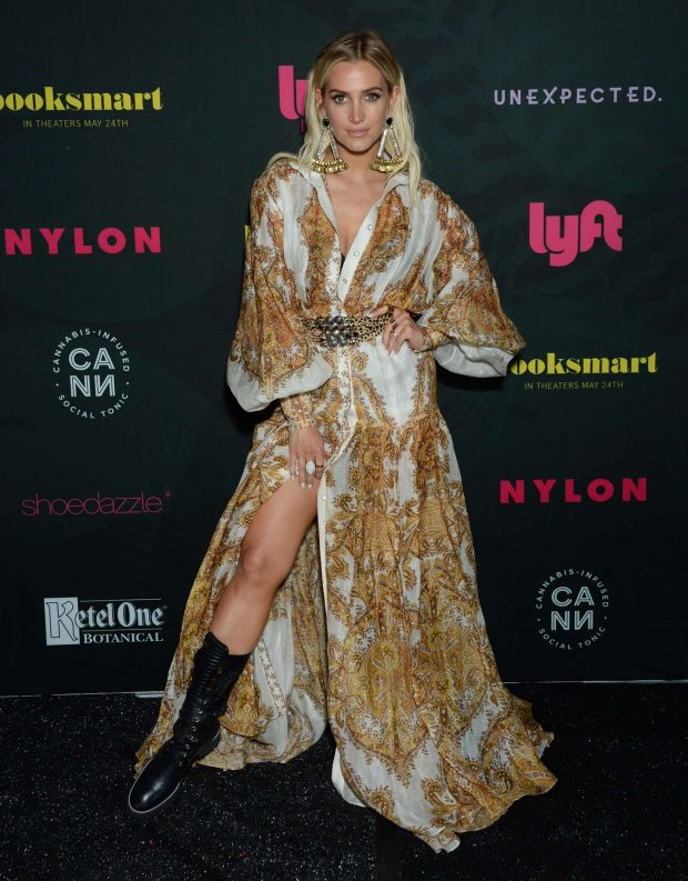 Ashlee Simpson - NYLON's Midnight Garden Party at Coachella in Bermuda Dunes