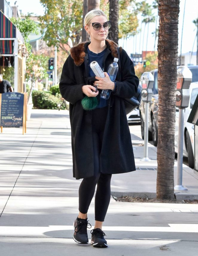 Ashlee Simpson out and about in LA